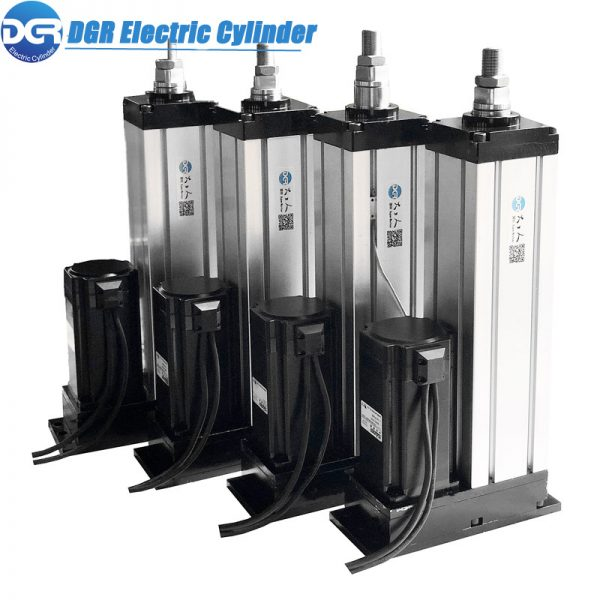 high load electric linear actuator, large force electromechanical actuator