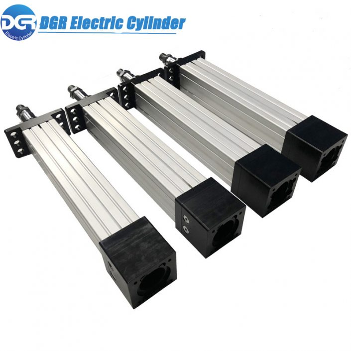 DGR-61-I Fast Double Acting Inline Electric Linear Piston Rod Actuator
