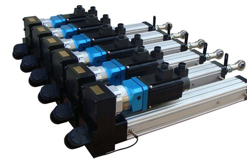 electric cylinder selection, electric cylinder selection guide, electric cylinder model