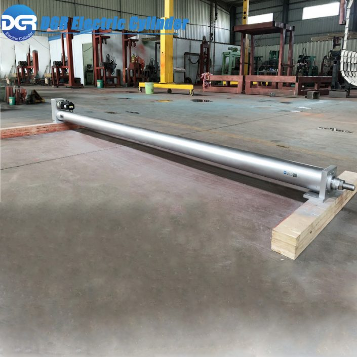 linear actuator for automatic alignment machine