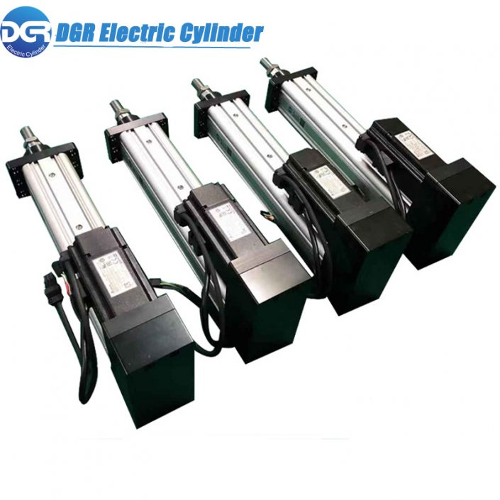 DMX512 Control electric linear actuator,Non-Stop Working Electric Servo Linear Actuator