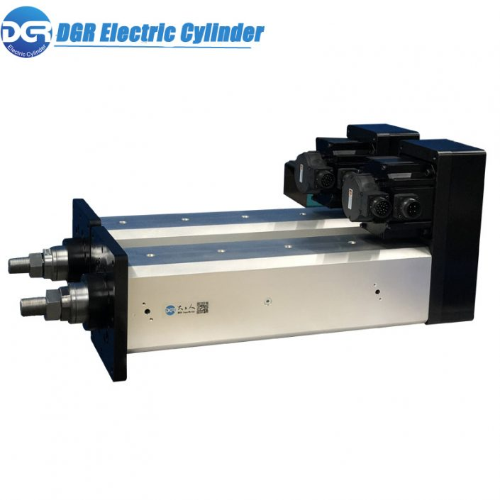 High precision linear actuator for test machine