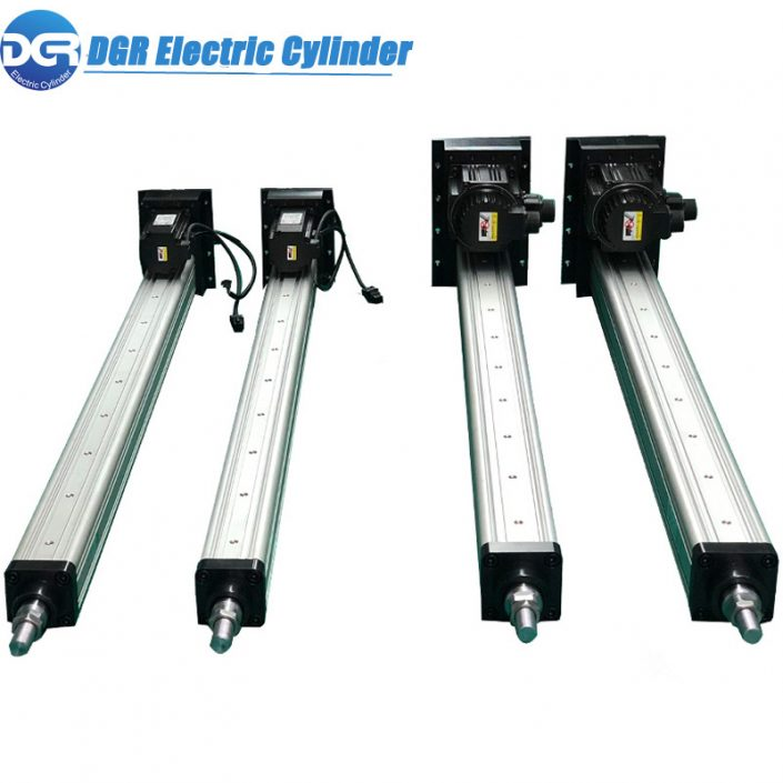 linear actuator for motorized solar panel tracking systems