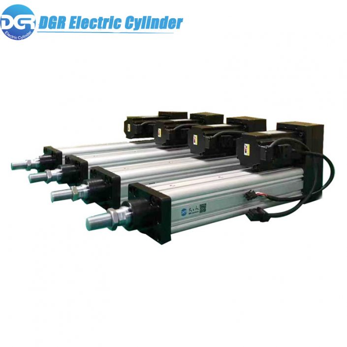 DMX512 Control electric linear actuator,Electric Servo Linear Actuator for Robotic LED Screen Advertising Billboard