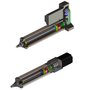 High precision long life linear actuator