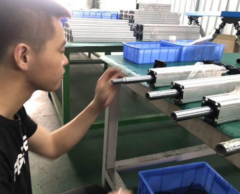 Производство прецизионных электрических линейных приводов